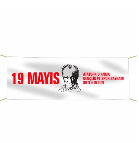 19 Mayıs Pankart