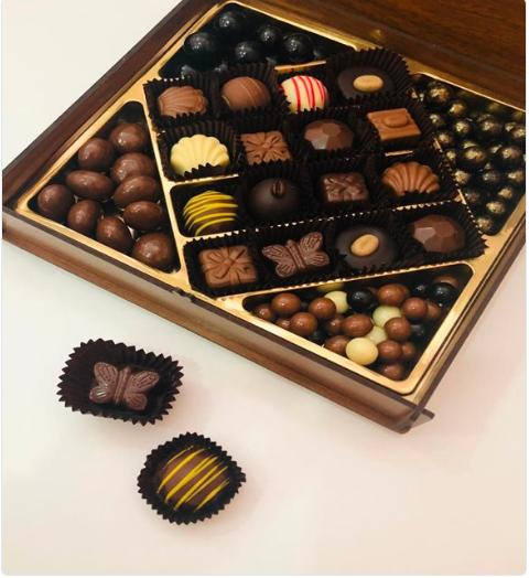 Çikolata Rüyası Ceviz Ahşap Kutulu