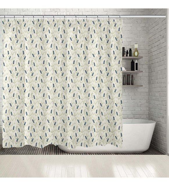 Ev dekorasyonu - duş perdesi