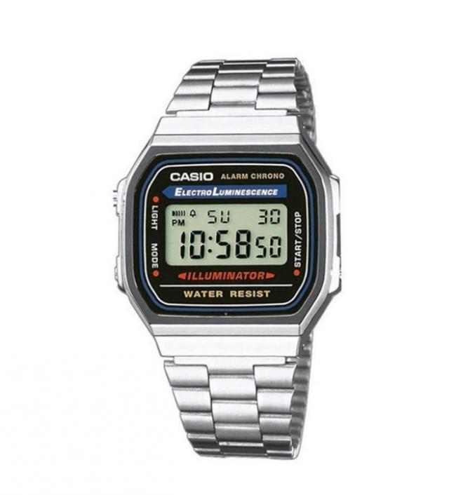 Casio Erkek Kol Saati A168WA-1WDF Metal Gümüş