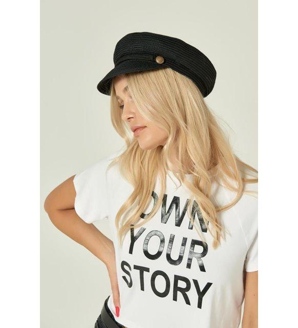 Denizci hasır şapka