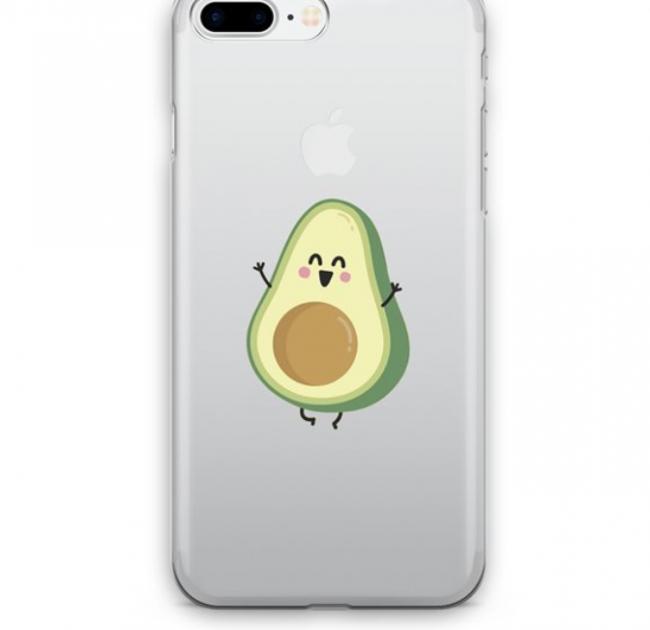 Avokado tasarımlı telefon kılıfı