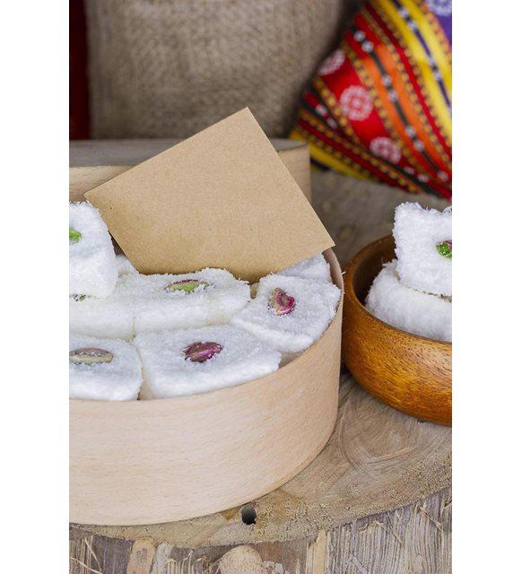 bayram şekerleri ve tatlılar -Beyaz sultan lokum