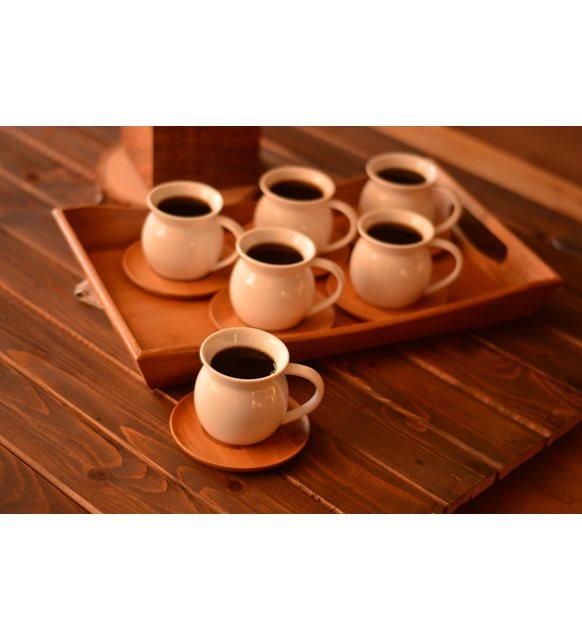 Bambu kahve fincan takımı