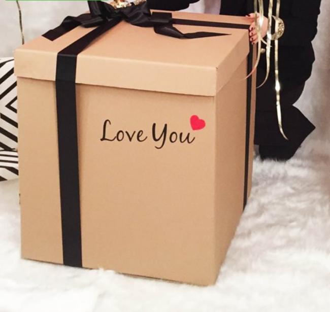 İsme özel sürpriz kutu