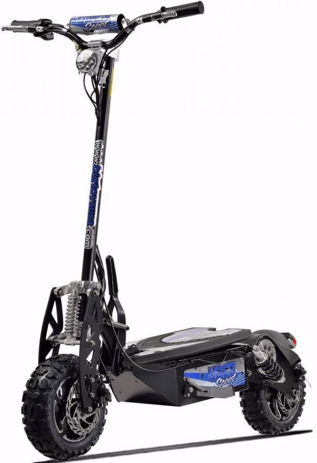 Uberscoot elektrikli scooter
