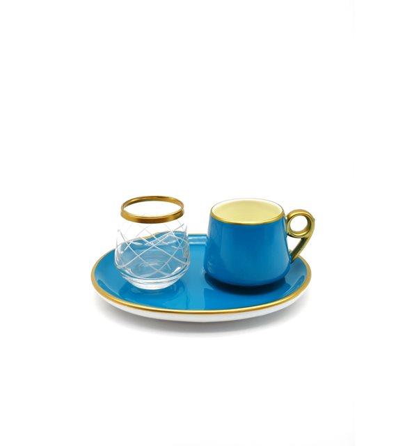 Türk kahvesi bardak seti