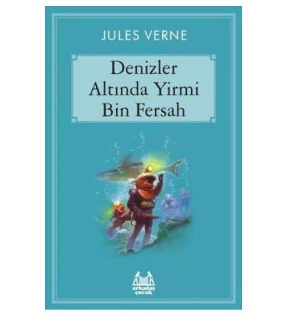 Denizler Altında Bin Fersah çocuk kitabı