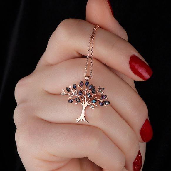Hayat ağacı kolye