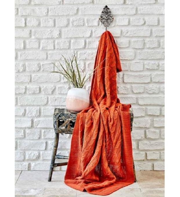 Örgü battaniye