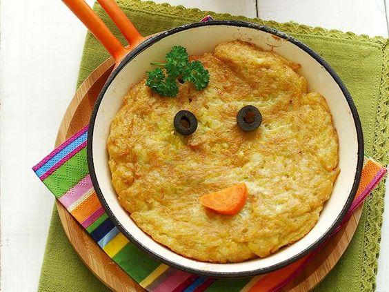 Sevimli surat omlet