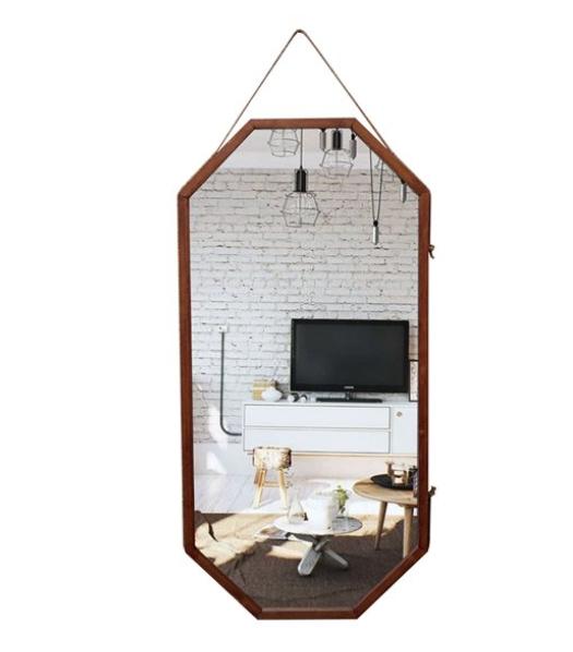 Askılı Sekizgen Boy Aynası