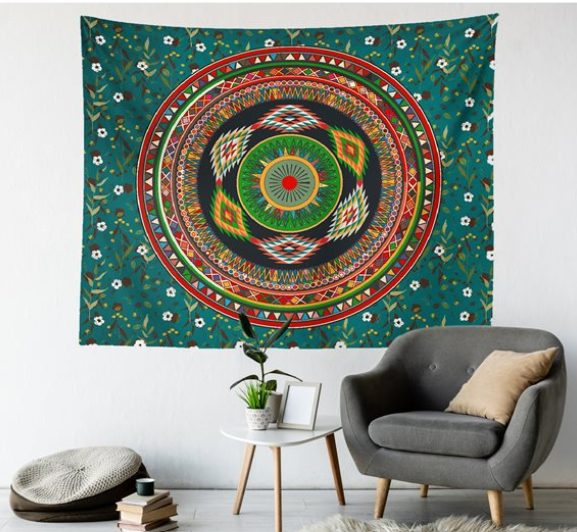 Mandala Duvar Örtüsü