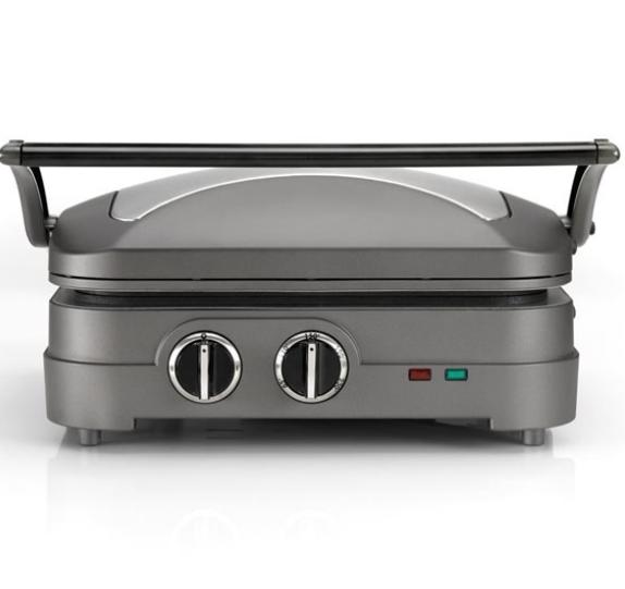 Cuisinart GR47E Çok İşlevli Izgara ve Tost Makinesi