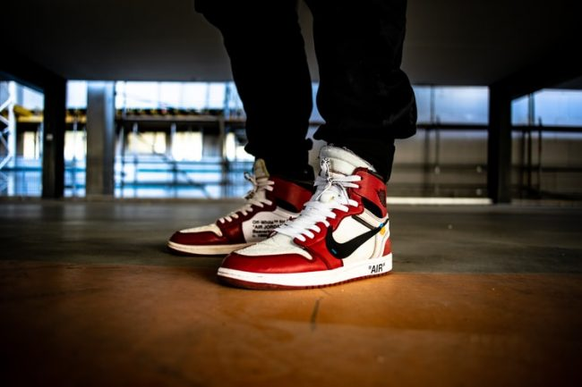basketbol ayakkabısı üst kısım