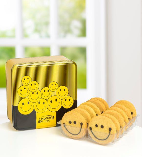 Güldüren tatlar kurabiye kutusu