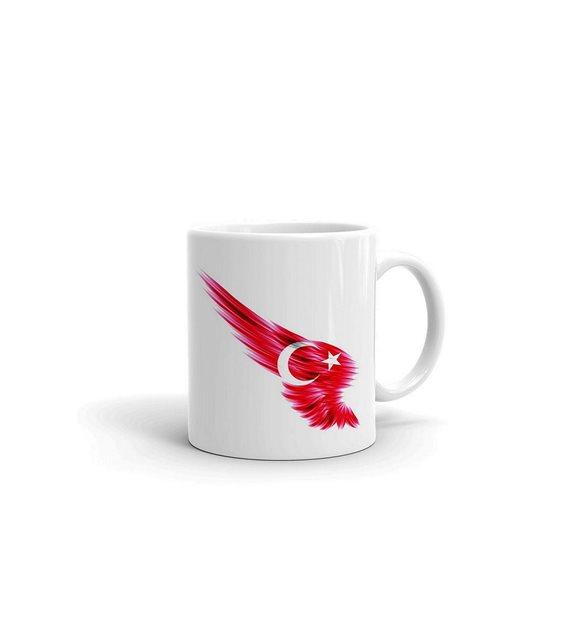 Türk bayraklı kupa
