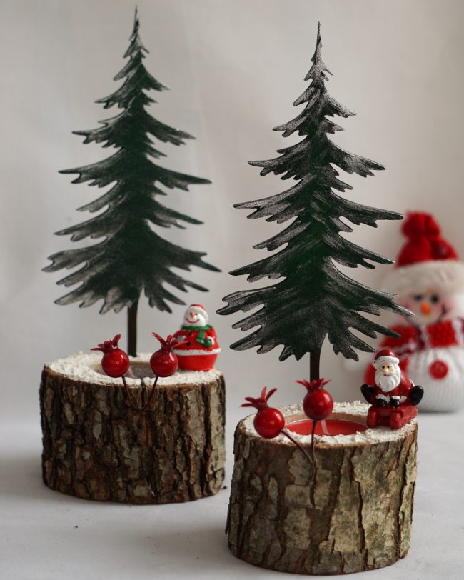 Çam ağacı biblo