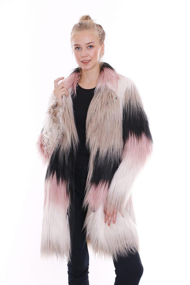 Uzun tüylü palto