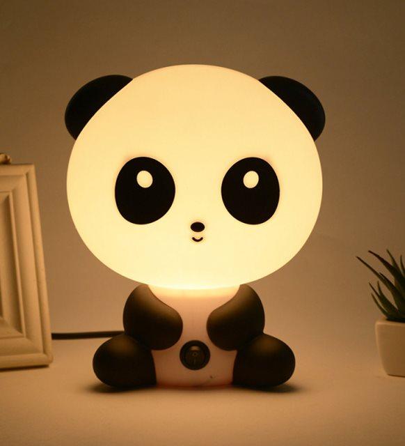 Panda gece lambası