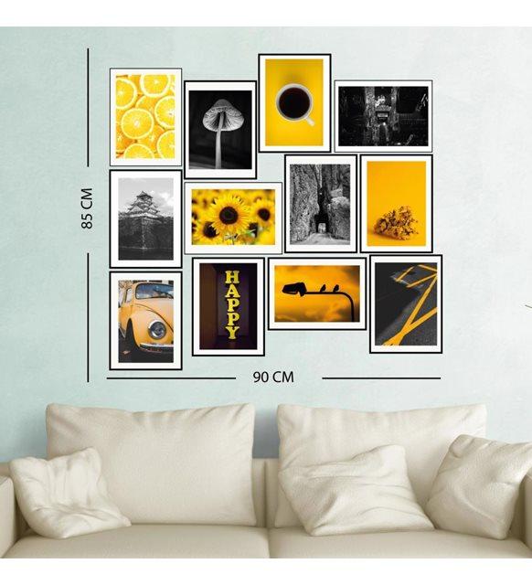 2021 yılının renkleri sarı tablo