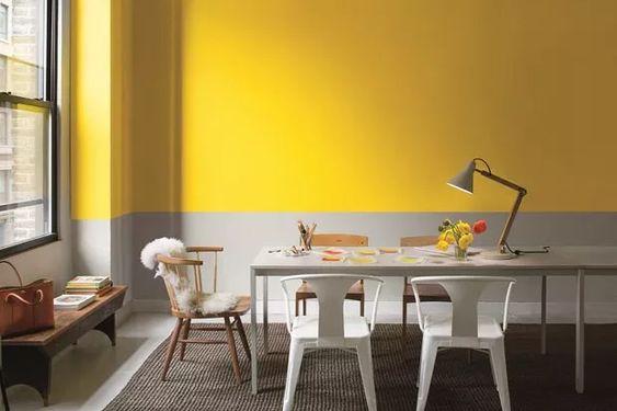 2021 yılının renkleri duvar boyası