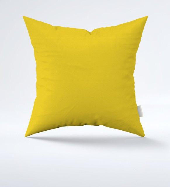 2021 yılının renkleri sarı yastık kılıfı
