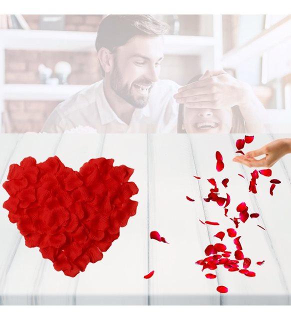Sevgililer günü ev dekorasyonu - yapay gül yaprağı