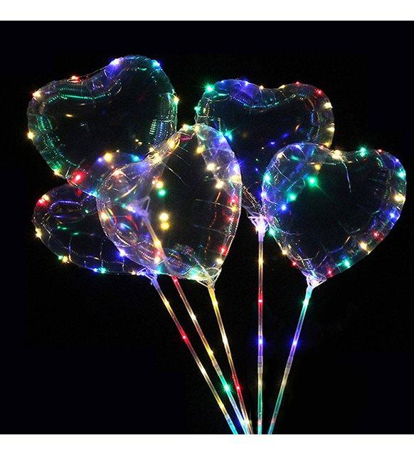 Sevgililer günü ev dekorasyonu - balon