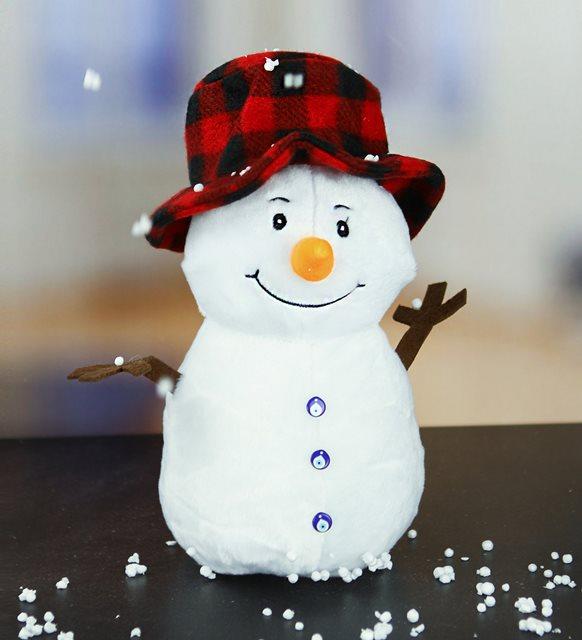 Peluş hediyeler - kardan adam peluş