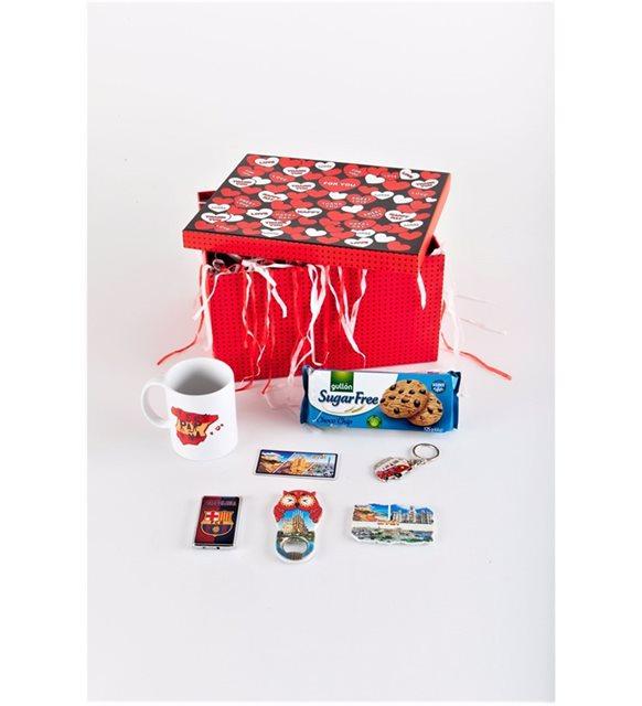 Sevgililer Günü için ilgin hediye - ispanya hediye kutusu