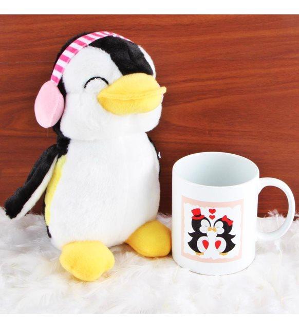 Peluş hediyeler - penguen peluş