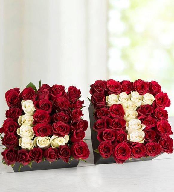 Sevgililer günü ev dekorasyonu - gül kutusu