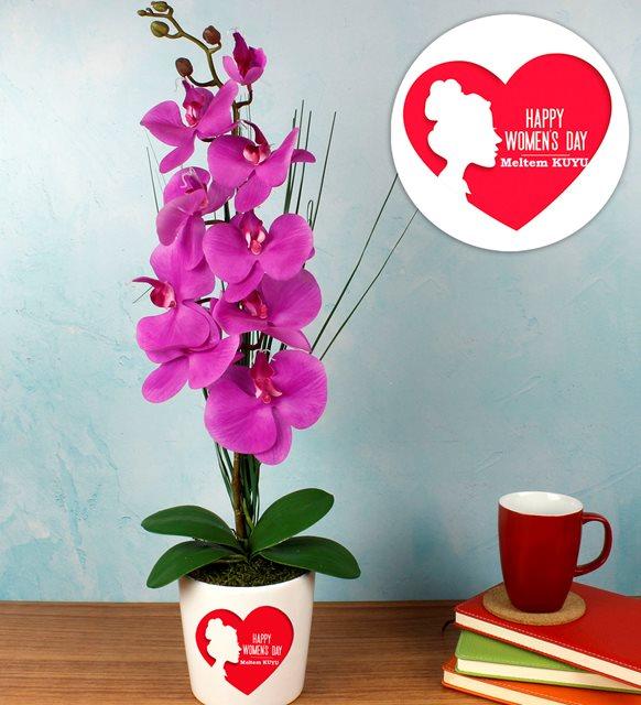 Kadınlar Günü mesajları ve hediyeler-   orkide