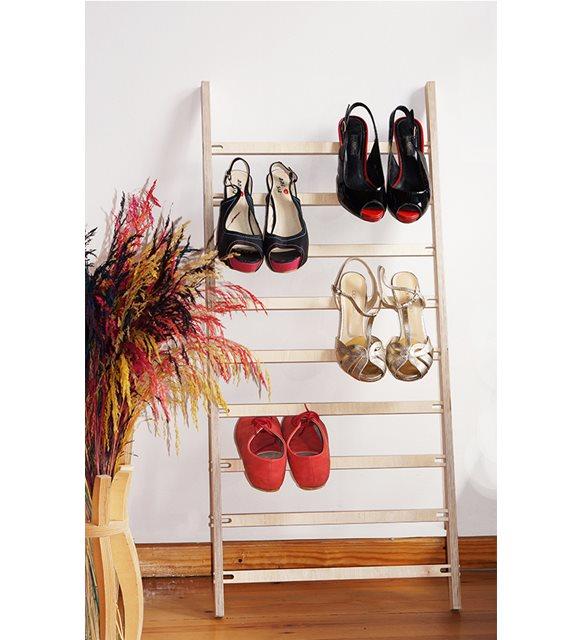 Ayakkabı depolama fikirleri - ayakkabı askısı
