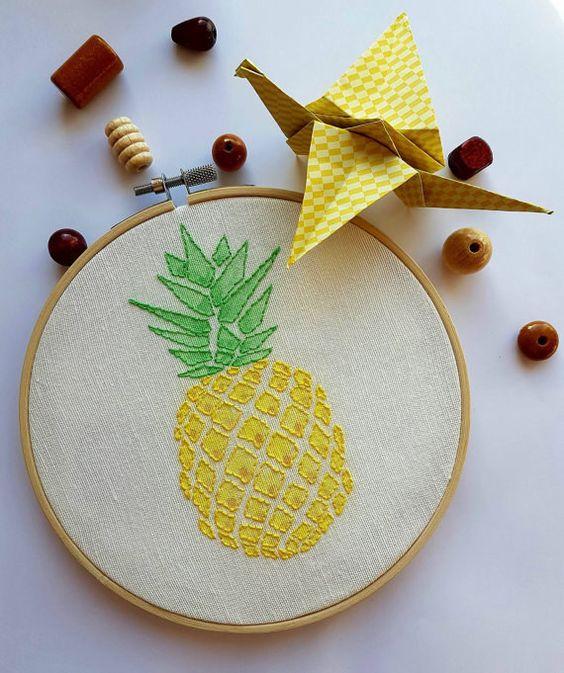 Ananas işlemesi