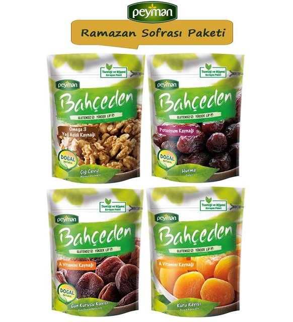Ramazan ayı kuruyemiş paketi