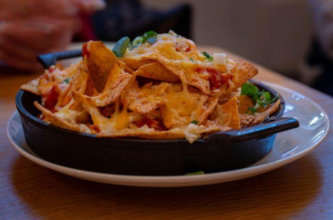 Meksika mutfağı nachos
