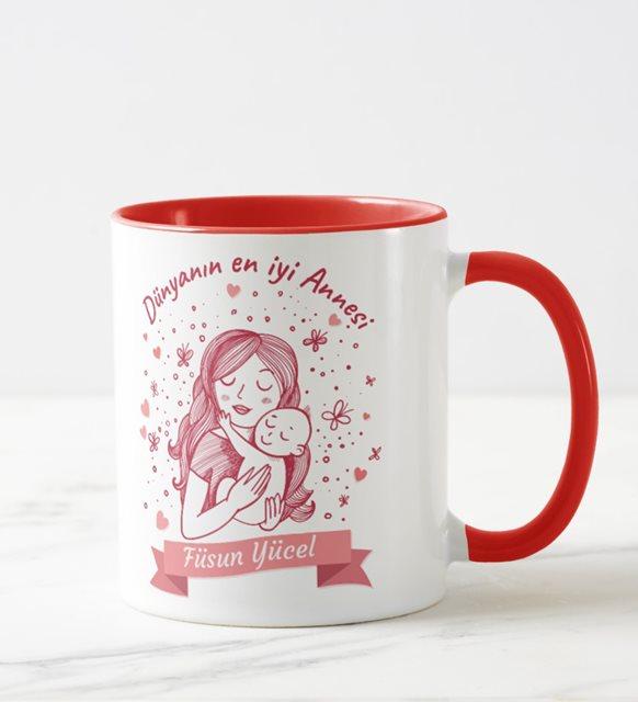 Kardeşe/Ablaya Anneler Günü hediyesi - kupa bardak