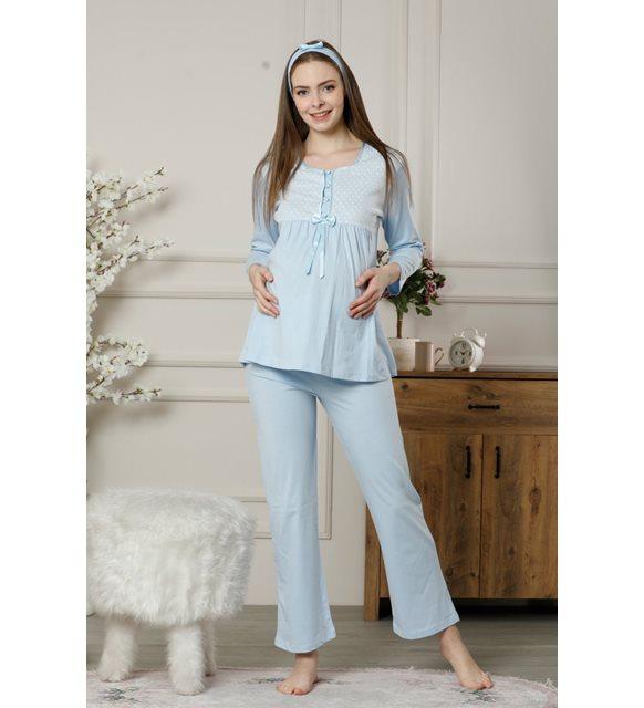 hamile annelere anneler günü hediye - pijama takımı
