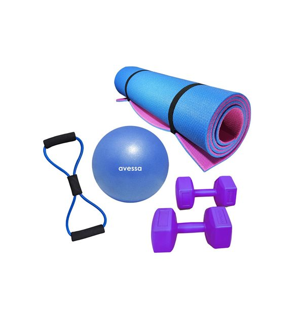 Yoga ve pilates seti