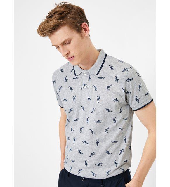 Polo tişört ve şort - Koton tişört