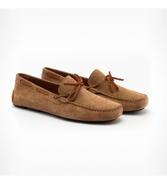 Erkekler için yazlık ayakkabı -Giuseppe süet