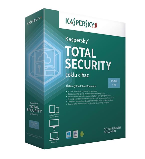 Kaspersky Total Security antivirüs programı