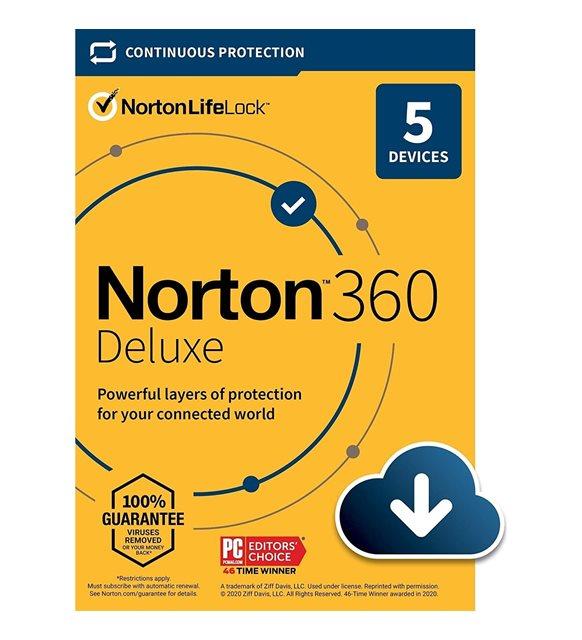 Norton 360 Deluxe antivirüs programı
