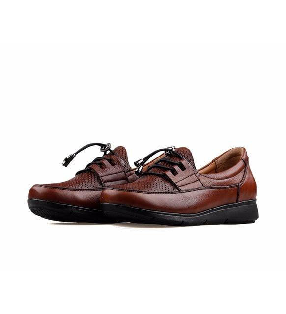 kahverengi günlük ayakkabı