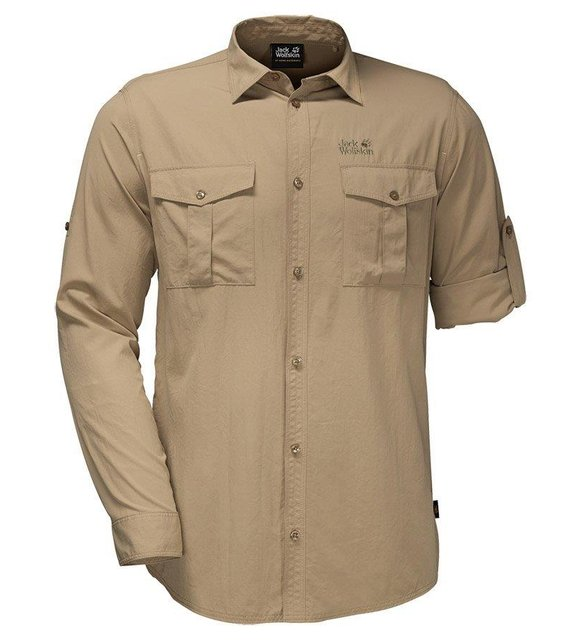 Büyük beden erkek giyim - Jack Wolfskin gömlek